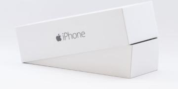 Iphone Verpackung beim Kauf