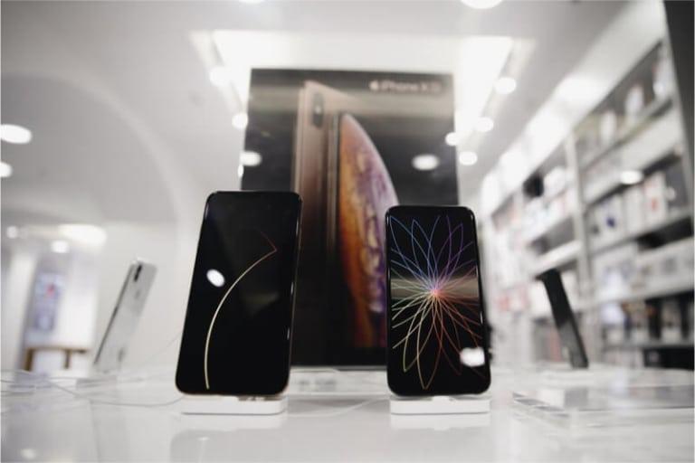Vergleich iPhone XS-Canon C200