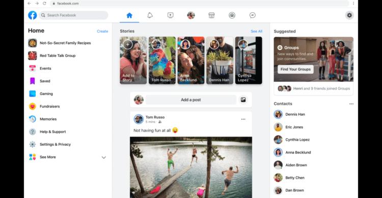Kommt Facebook's Desktop-Redesign diesen Sommer