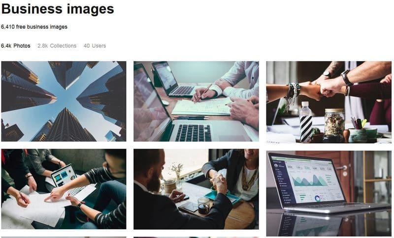 Kostenlose Bilder mit unsplash.com