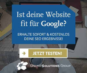 Kostenloser SEO-Onpage-Check der OSG