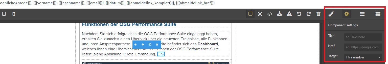 Link Newsletter OSG