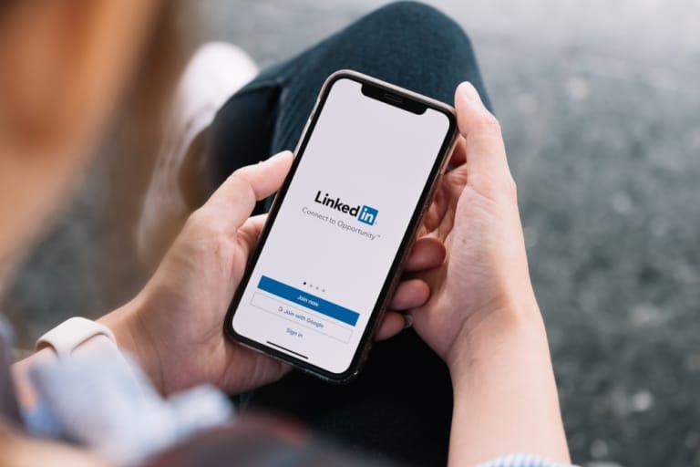 LinkedIn Swipe-up-links