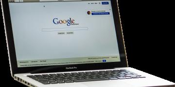 MacBook-Google-Startseite