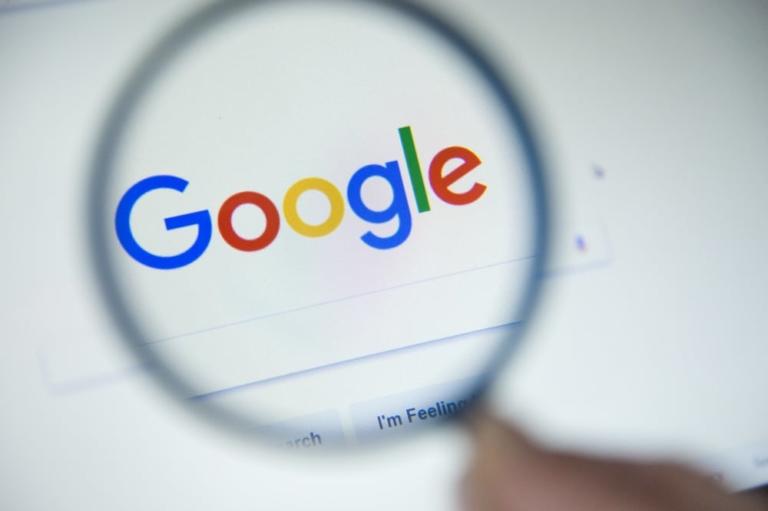 Manipulation der Suchanfrage auf Google