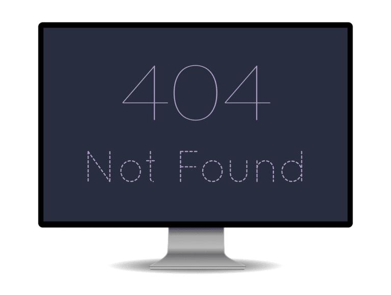 Nach Hack URLs führen ins Nichts - was tun