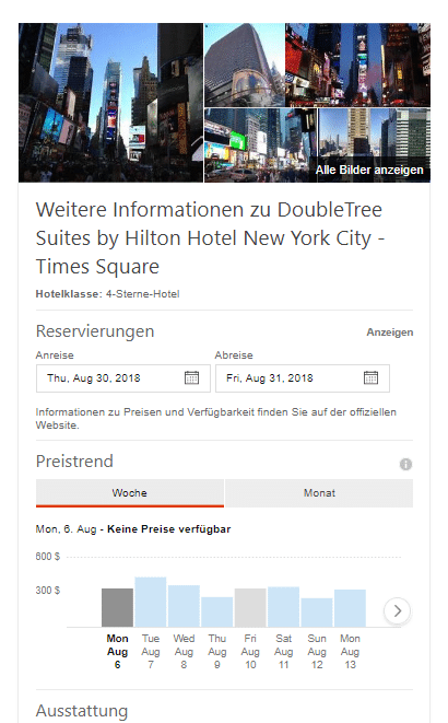 Neues Bing Update Hotels