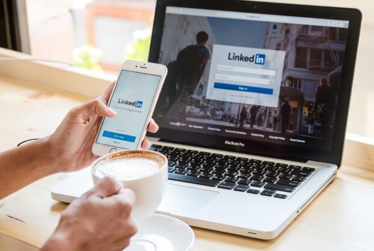 Neues Design bei LinkedIn