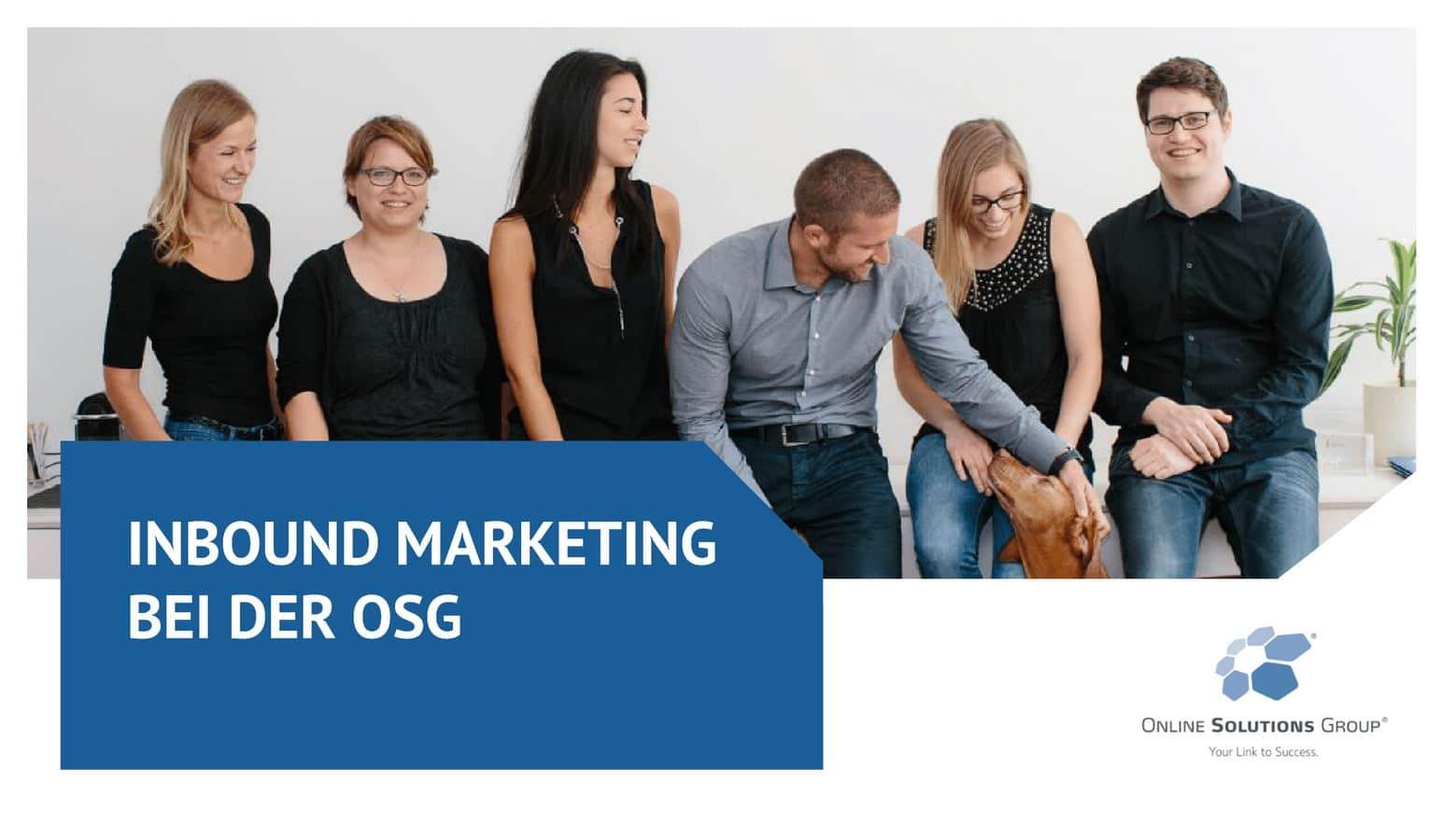 Weitere Infos über OSG als Inbound Marketing Agentur in München