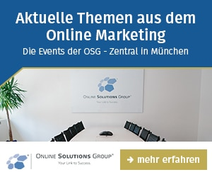 OSG Online Marketing Event
