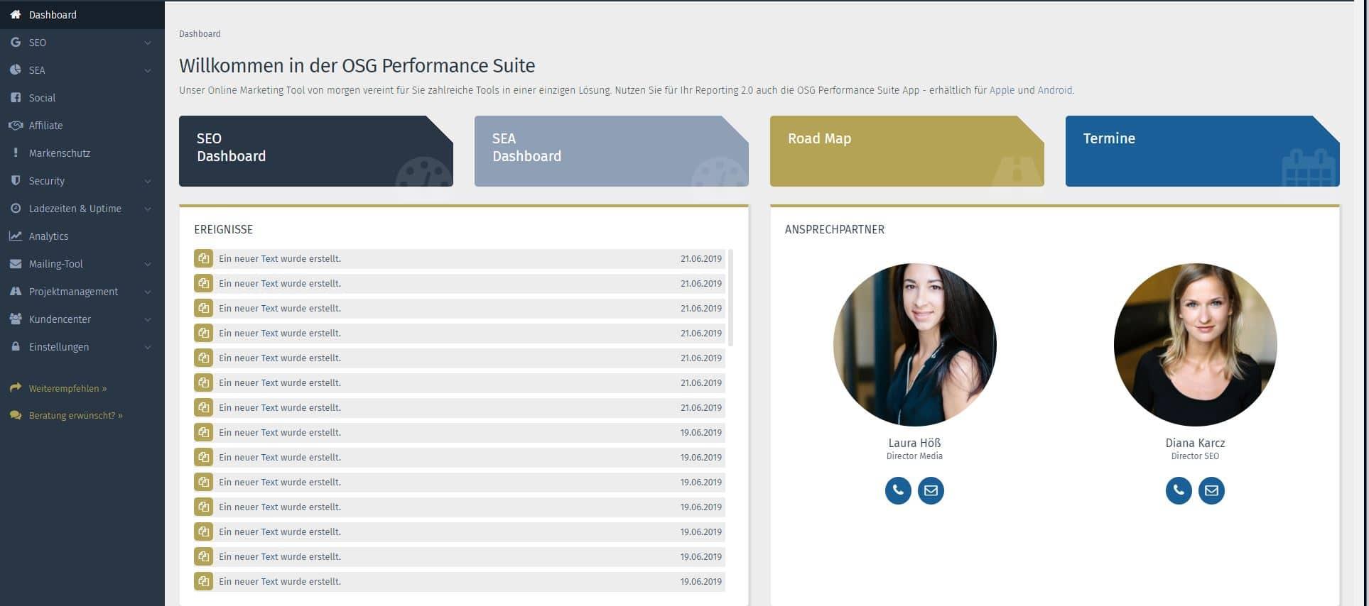 OSG Performance Suite