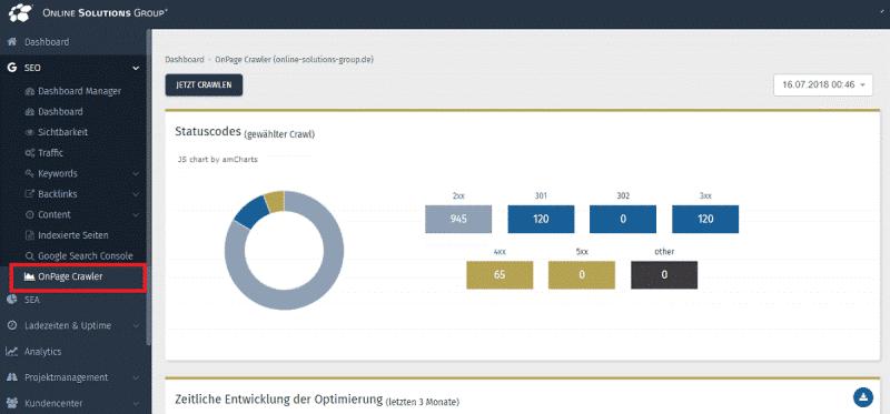 OSG Performance Suite Onpage Crawler
