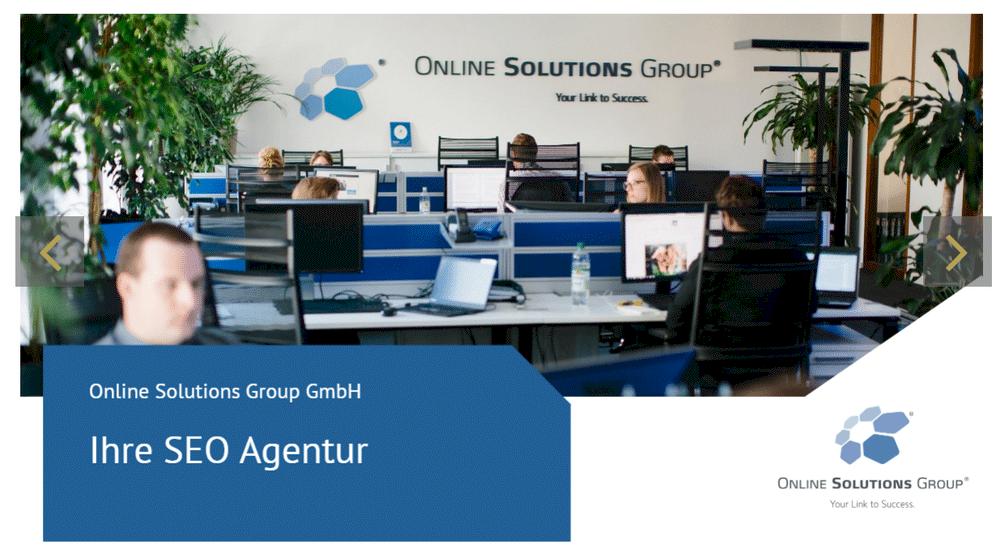 OSG als SEO Agentur