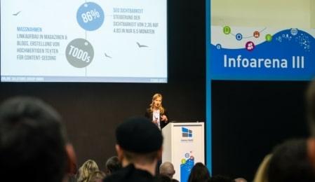 Eindrücke Internet World Messe