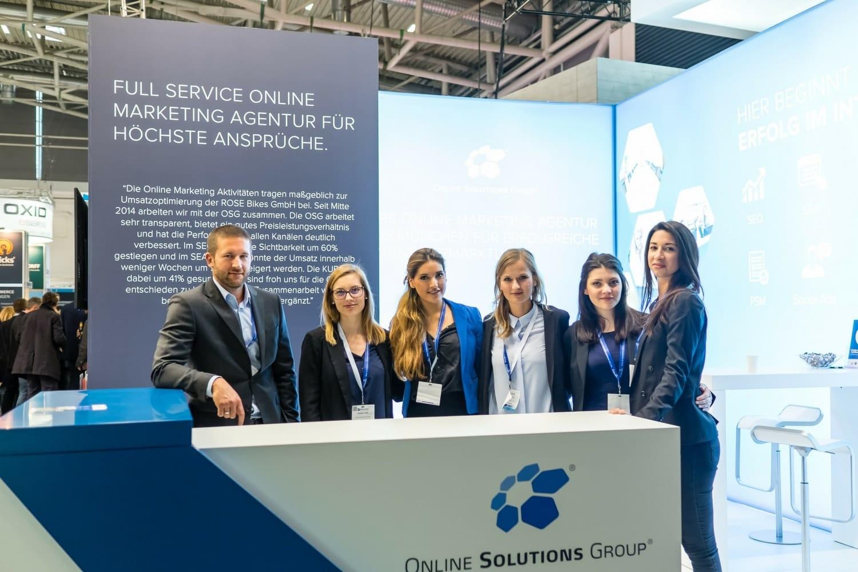 Das Messe-Team der OSG
