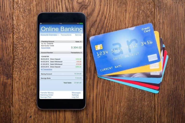 Online Banking am Handy