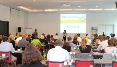 Impression aus dem Online Marketing Forum 2016