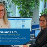 Patricia-und-Caro-Herzlich-Willkommen