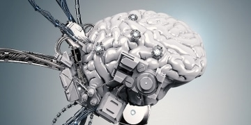 Bild Roboter Nerd-News-KI