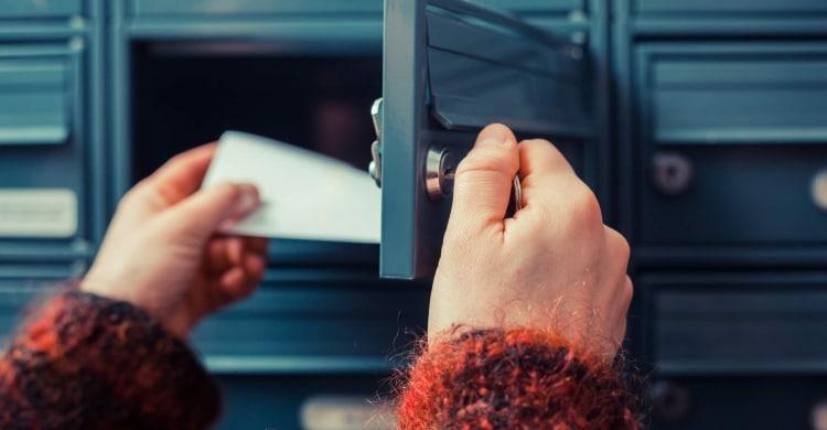 Postkasten als Symbol für E-Mail-Marketing