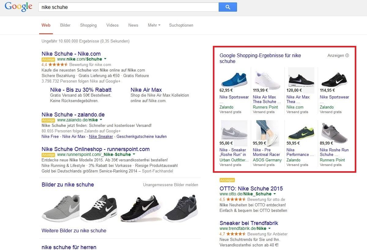 wichtigsten Google Product OSG AdsDie Listing Tipps BexCordW