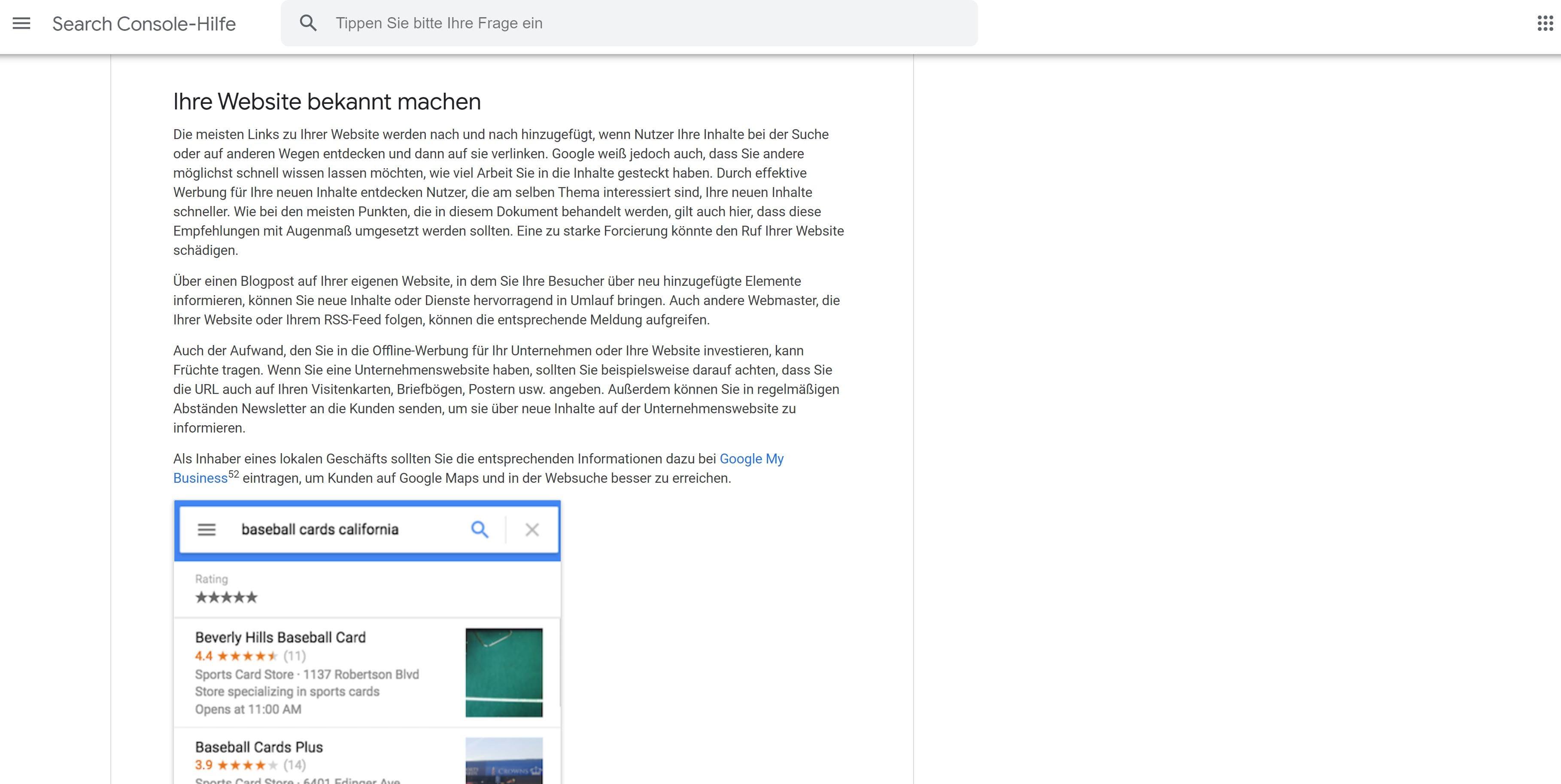 SEO Werbung Google Richtlinien