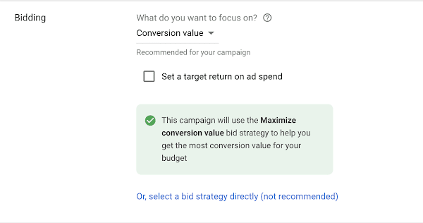 Smart Bidding Strategy Screenshot