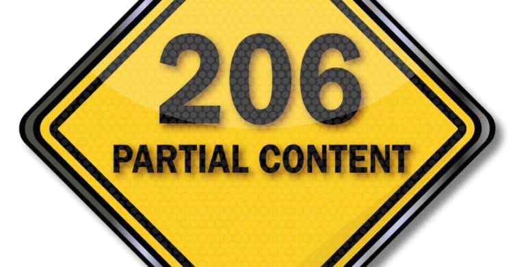 Statuscode 206 Partial Content