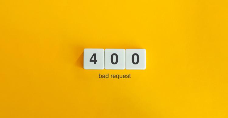 Statuscode 400 Bad Request