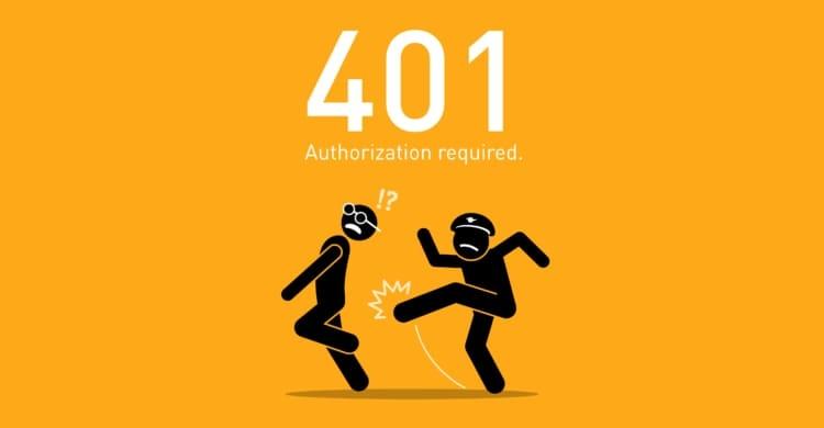Statuscode 401