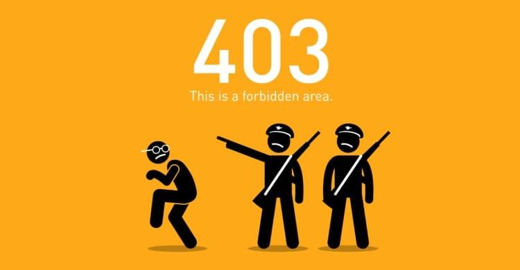 Statuscode 403