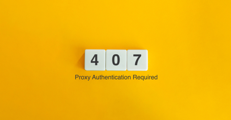 Statuscode 407 Proxy Authentication Required