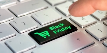Tastatur Black Friday Button