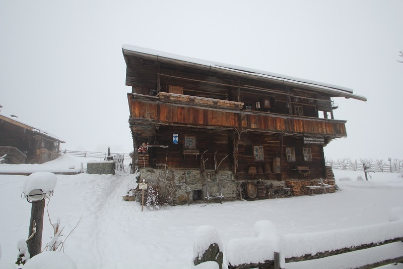 OSG in der Hütte in Kimml