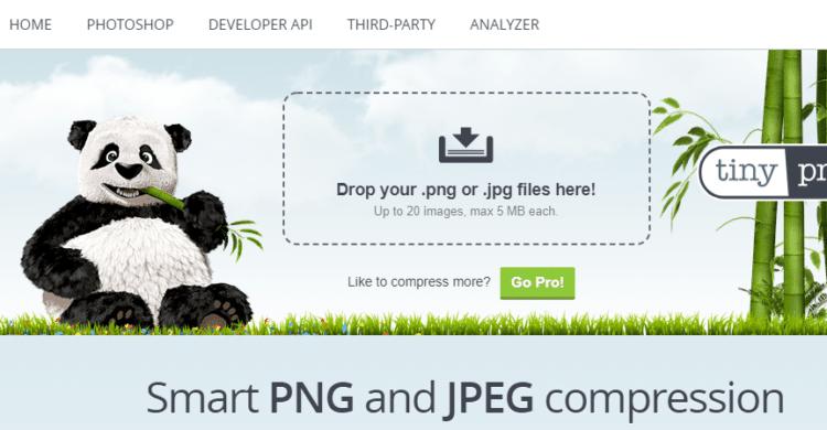 TinyPNG Typo3 Ladezeitenoptimierung