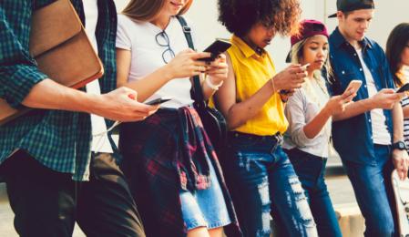 Top 4 Social-Media-Plattformen für Generation Z
