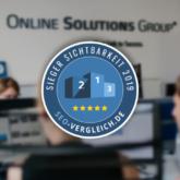 Top SEO-Agenturen 2019 Studie: OSG auf Platz 8