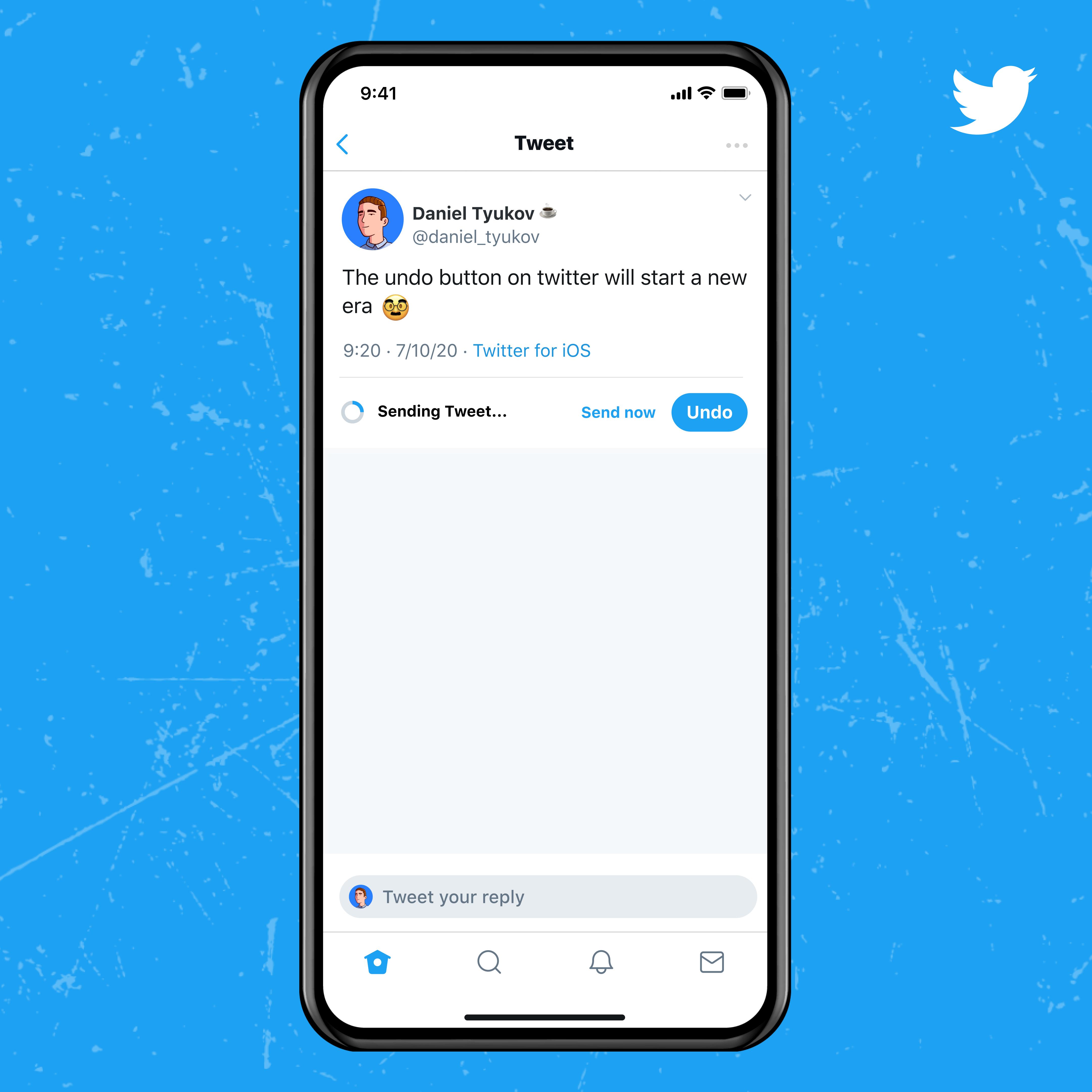 Twitter Blue Funktionen: Tweet widerrufen