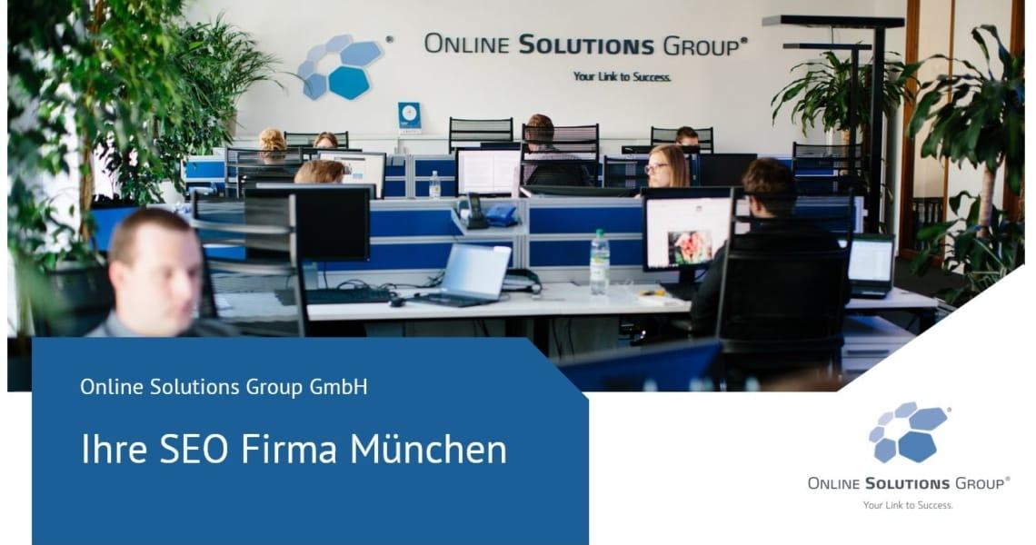 SEO Firma München