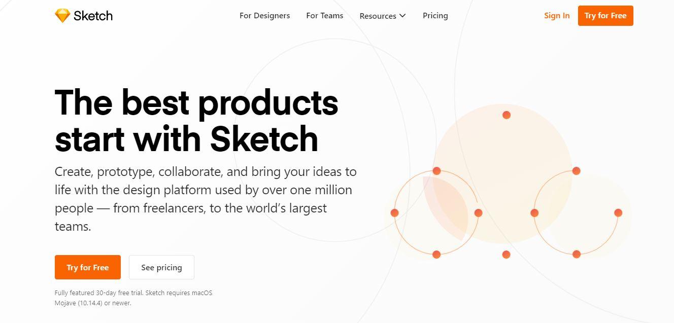 Sketch für dein Webdesign