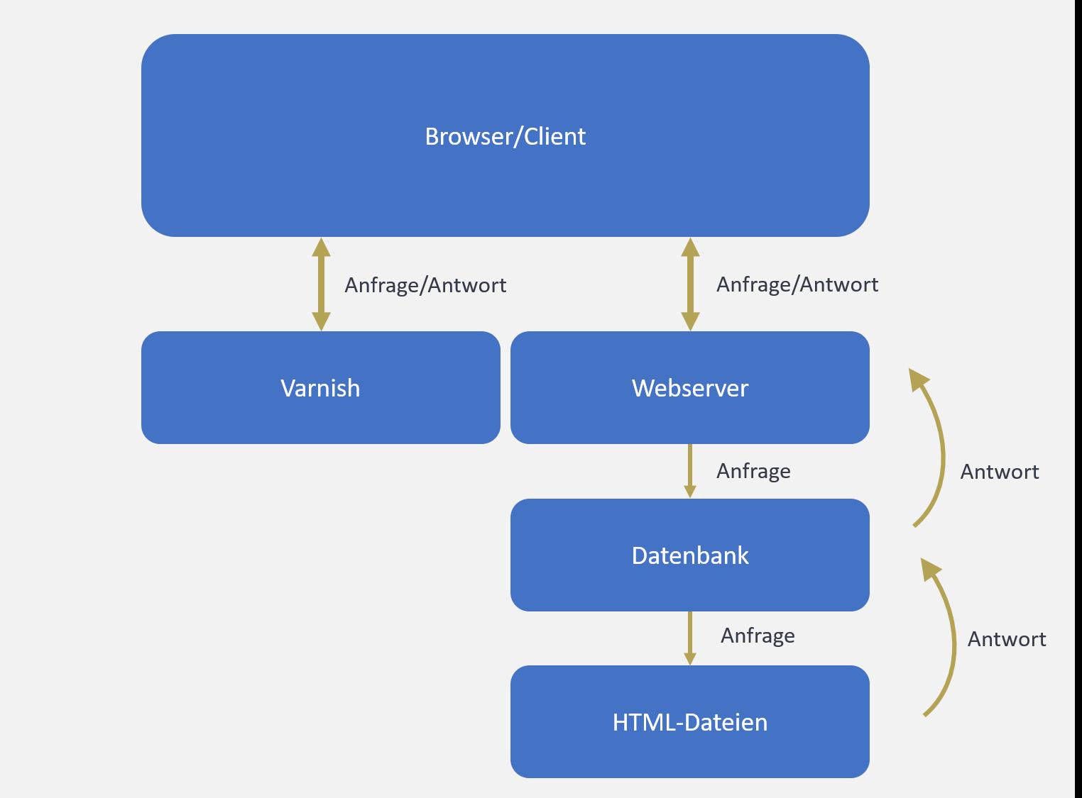 Die Nutzung eines Varnish Cache ist ein guter Hebel zur WordPress Ladezeitenoptimierung. Hierbei werden wichtige Daten im Arbeitsspeicher eines Servers gespeichert und bei Bedarf schnell abgerufen.