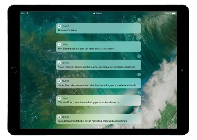 Push Notifications liefern dem Nutzer aktuelle Informationen und sind ein beliebtes Mittel um Interaktion und Kundebindung einer App zu steigern