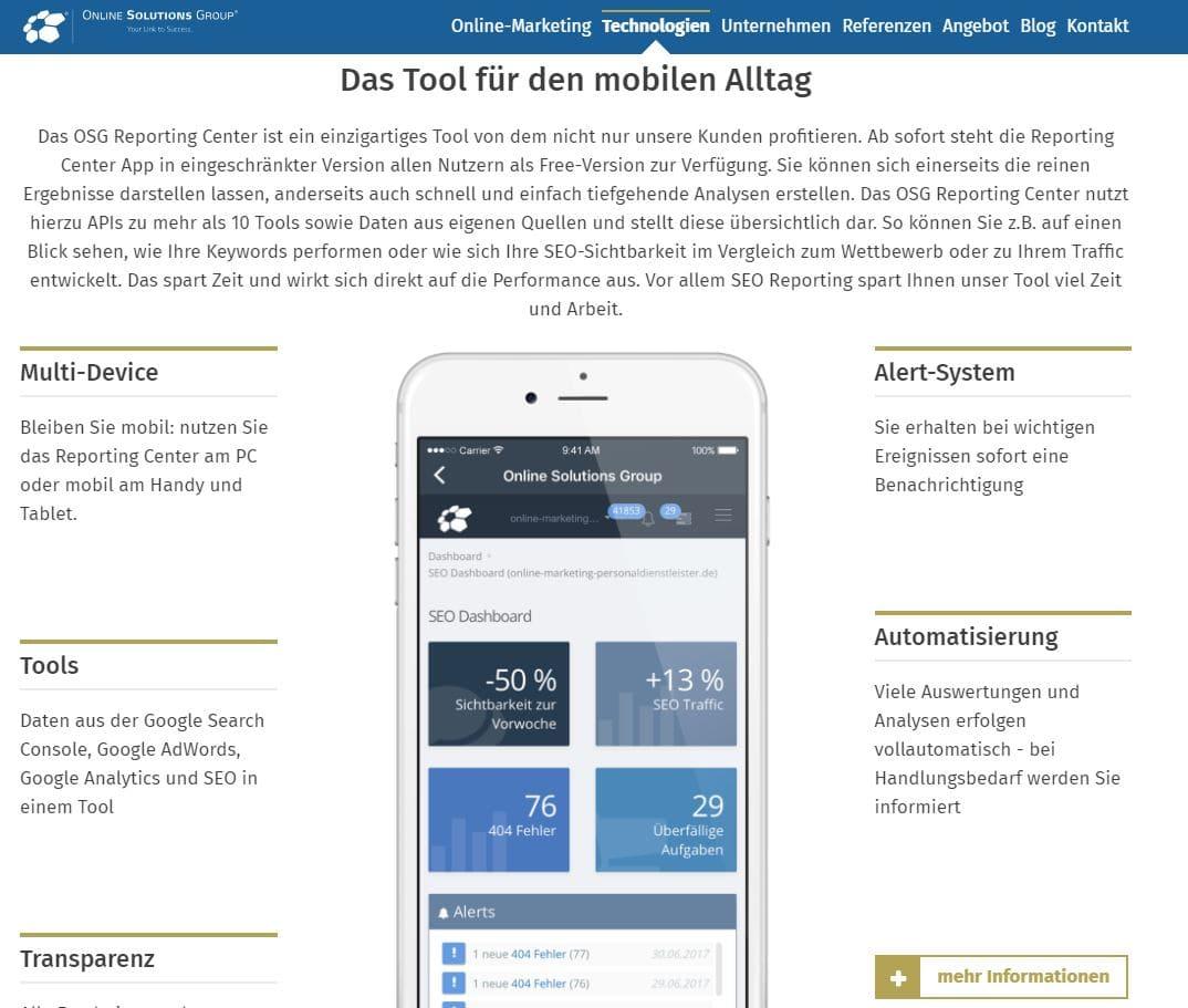 Die eigene Webseite ist für die App Vermarktung unabdingbar. Sie zählt zum Bereich der Owned Media.