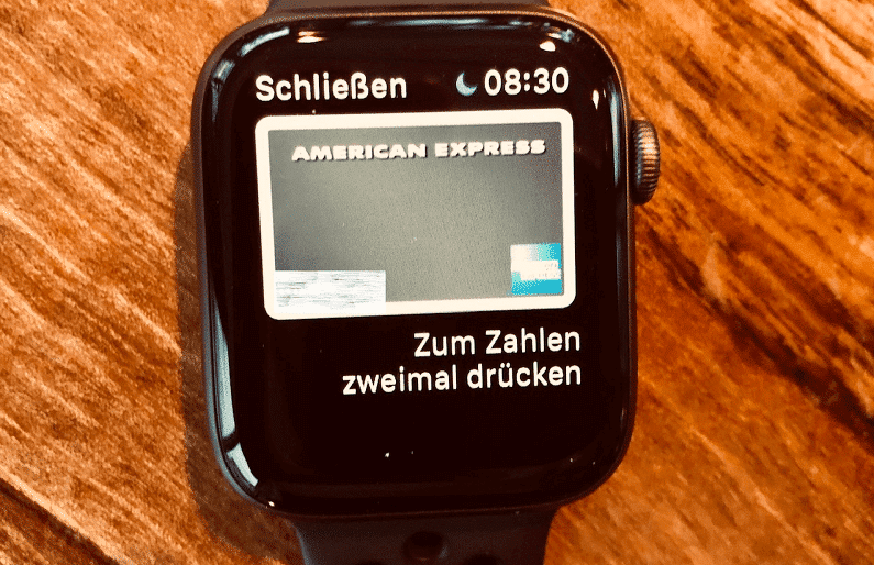 Apple Pay auf Apple Watch