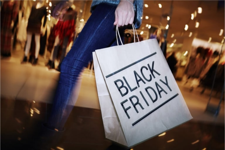 Apples Shopping Event zum Black Friday