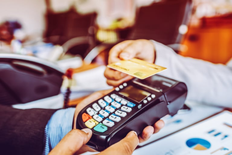 Bezahlen ohne Berührung