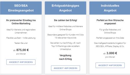 Call-to-Action OSG Seite