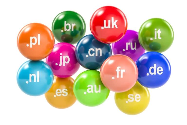 Länderspezifische Top Level Domains auch relevant bei weltweitem Publikum