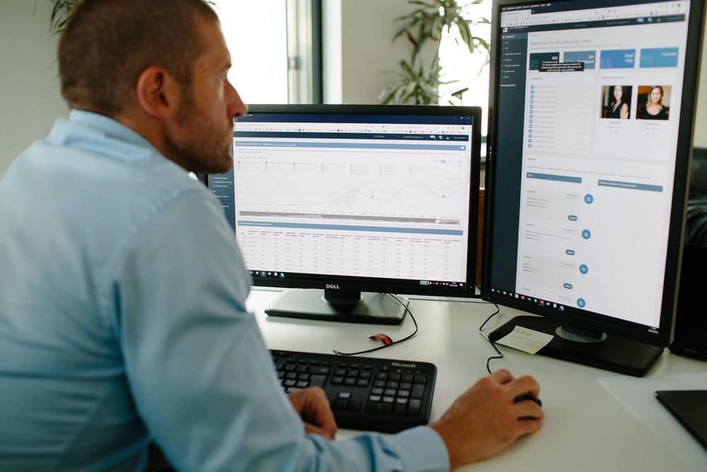 Webagentur Arbeitsplatz