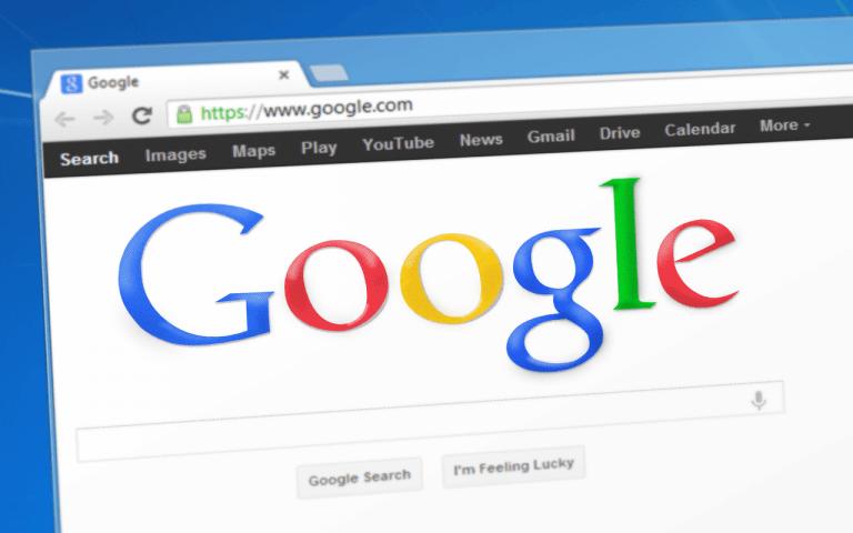Desktop Google Startseite